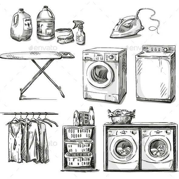 Laundry Objects