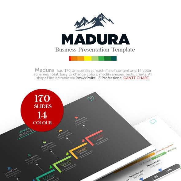 Madura - Business Presentation Template