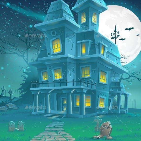 Haunted House Illustrations
