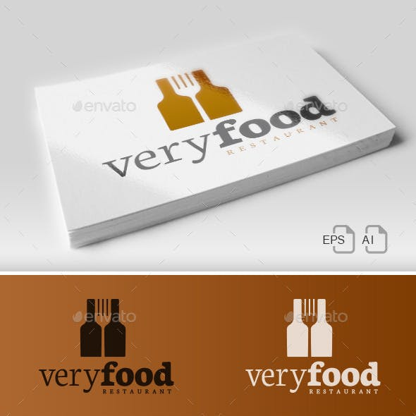 Very Food - Restaurant Logo