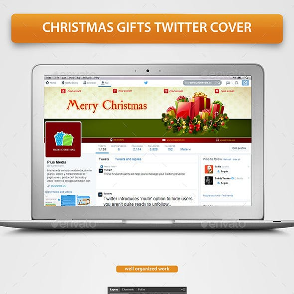 Christmas Gifts Twitter Cover