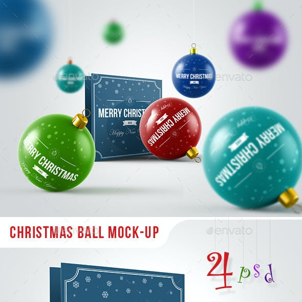 Christmas Ball Mock-Up