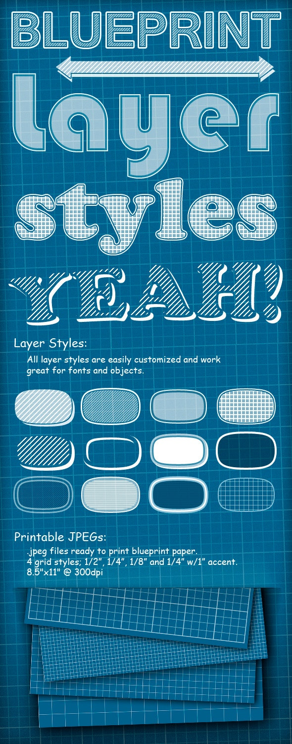 Blueprint Styles - Text Effects Actions