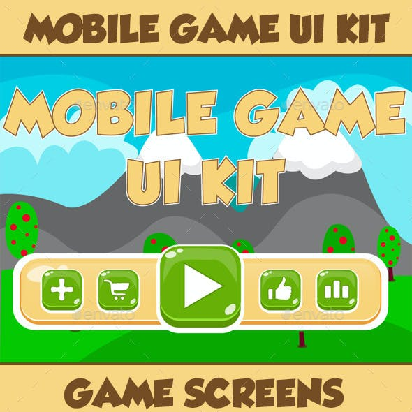 Mobile Game UI Kit 06