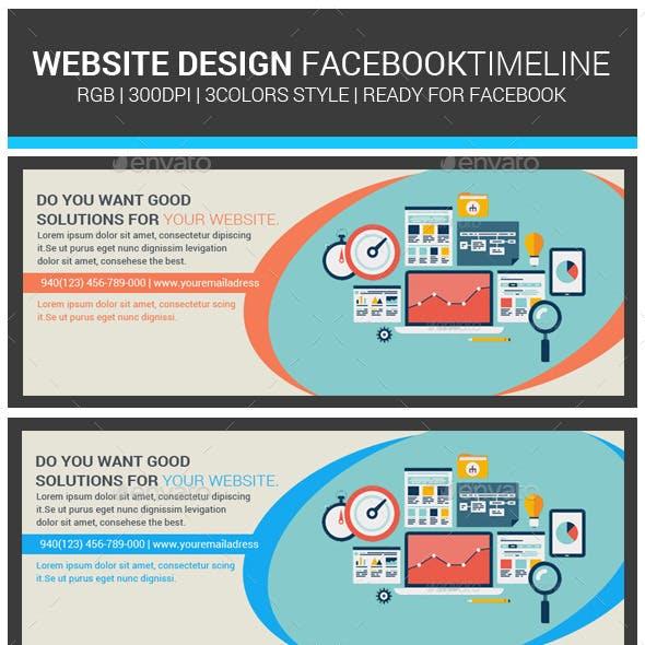 Website Design Agency Facebook Cover