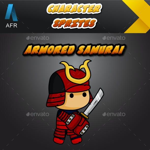 AFR Character Sprites - Armored Samurai