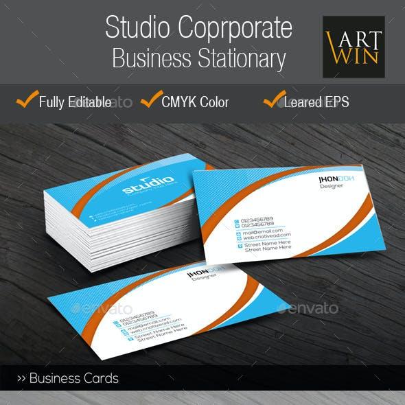 Studio Corporate Business Stationary