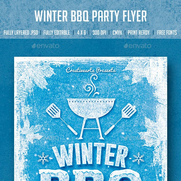 Winter BBQ Party
