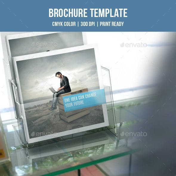 Square Bifold Business Brochure-V170