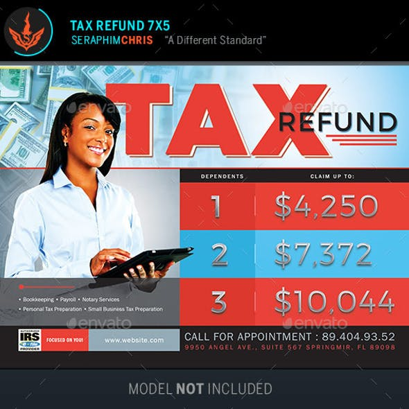 Tax Refund Flyer Template