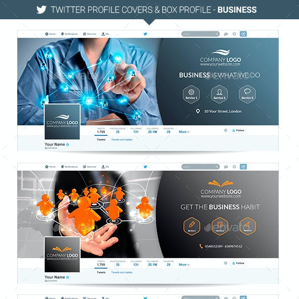 Twitter Covers - Business