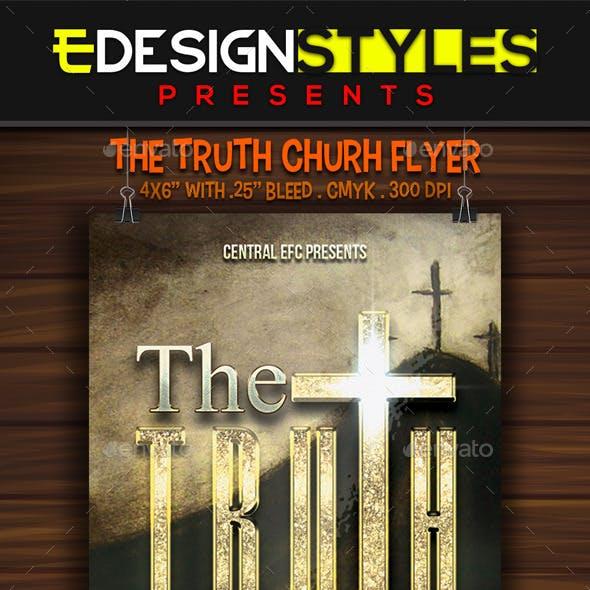 The Truth Church Flyer