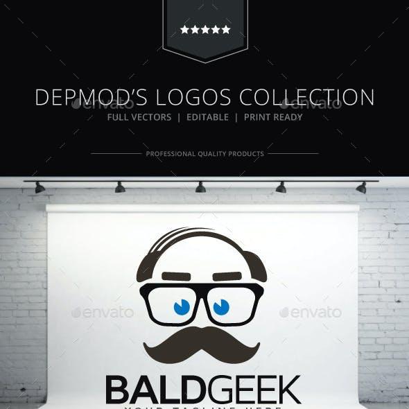 Bald Geek Logo