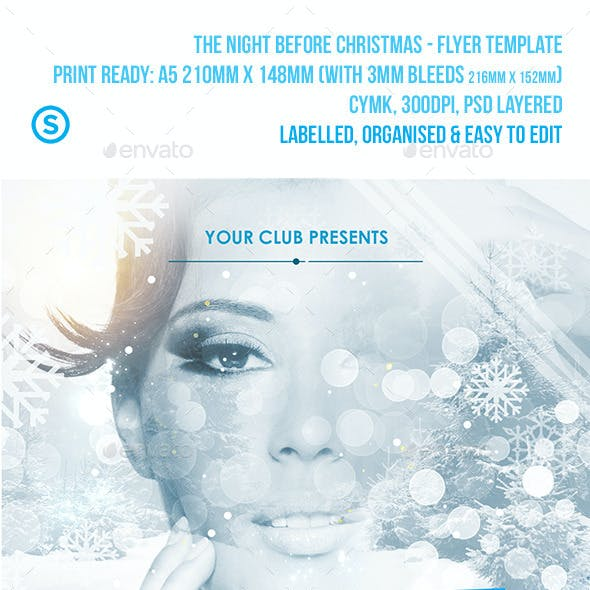 Christmas Flyer - The Night Before Christmas