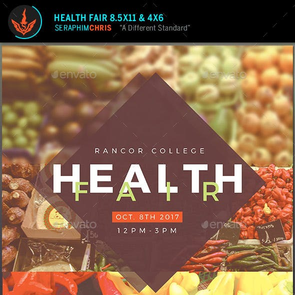 Health Fair Flyer Template 2