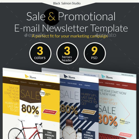 Huron : Sale and Promotional E-newsletter