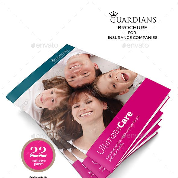 Insurance Companies Multipurpose Brochure Template