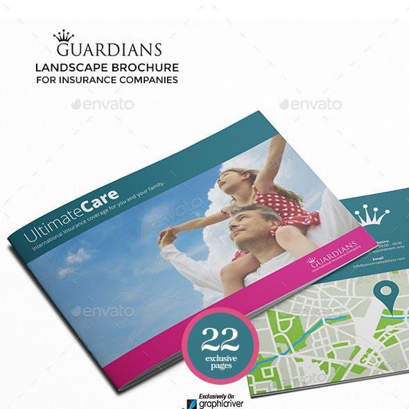 Landscape Brochure for Insurance Companies