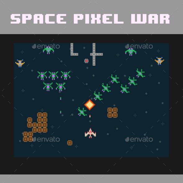 Pixel Space War