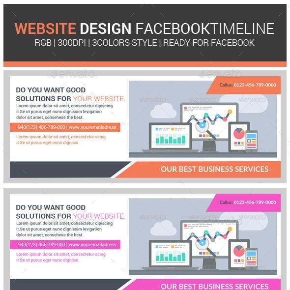 Website Design Agency Facebook Timeline