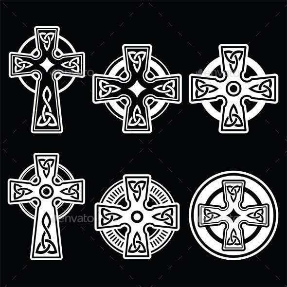 Irish, Scottish Celtic Crosses