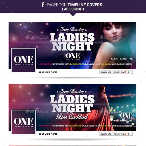 Facebook Timeline Cover - Ladies Night
