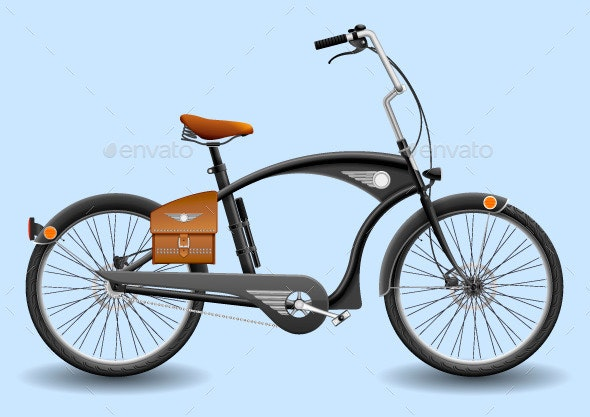 City Bicycle - Man-made Objects Objects