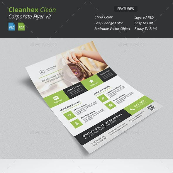 Cleanhex - Clean Corporate Flyer v2