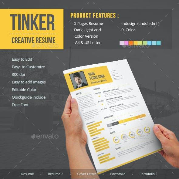Tinker - Creative Resume