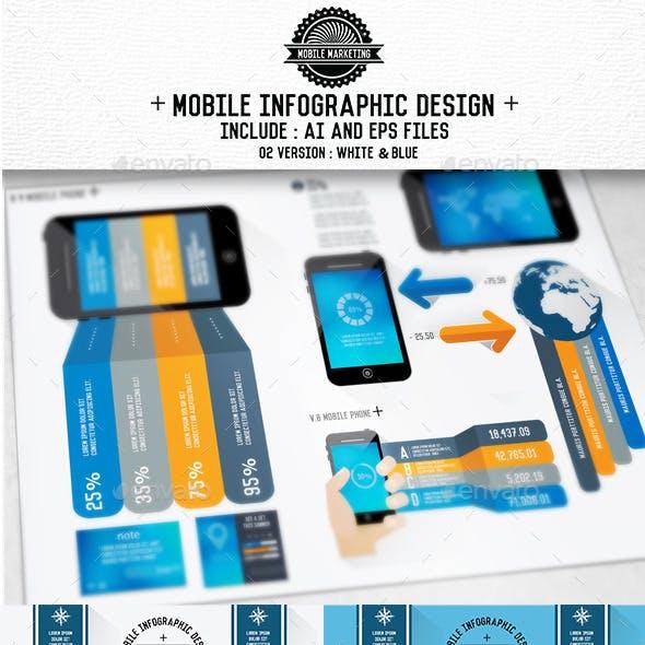Mobile Phone Infographics Design[Update]