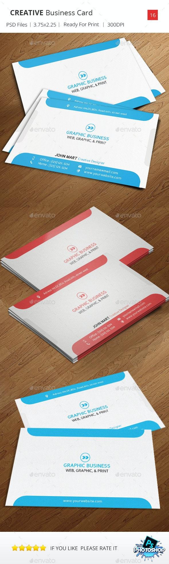 Creative Business Card v.16 - Creative Business Cards