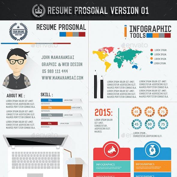 Resume Infographic Design[Update icons]