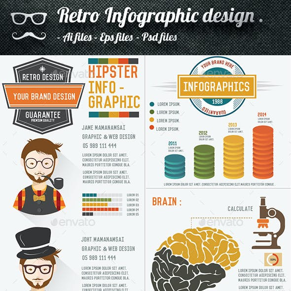 Hipster Infographic Design
