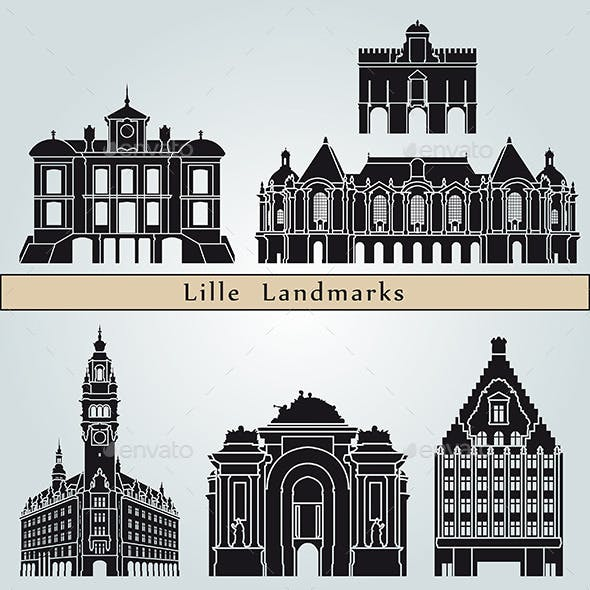 Lille Landmarks and Monuments