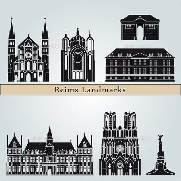 Reims Landmarks and Monuments