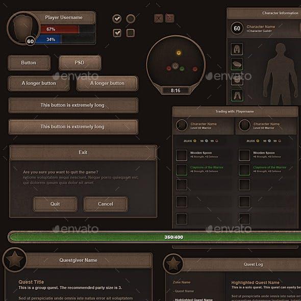 RPG User Interface Set