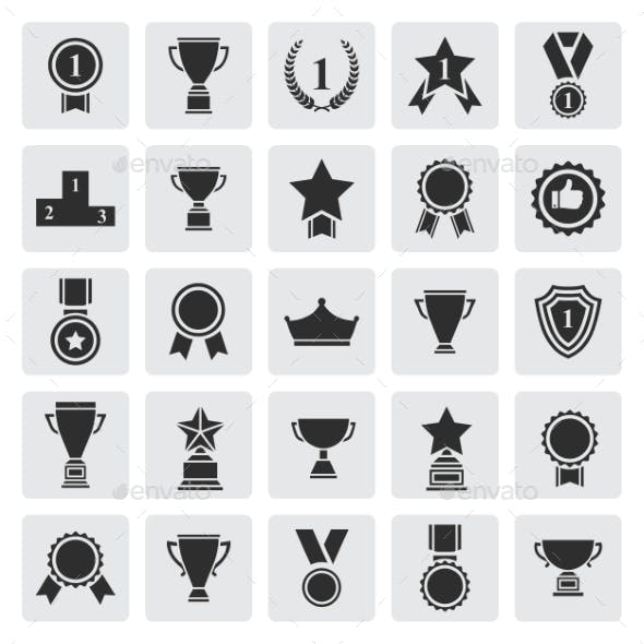 Award Success and Victory Icons
