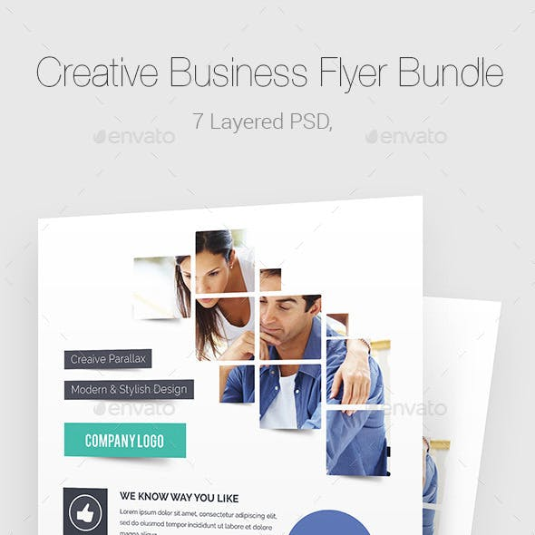 Creative Business Flyer Bundle