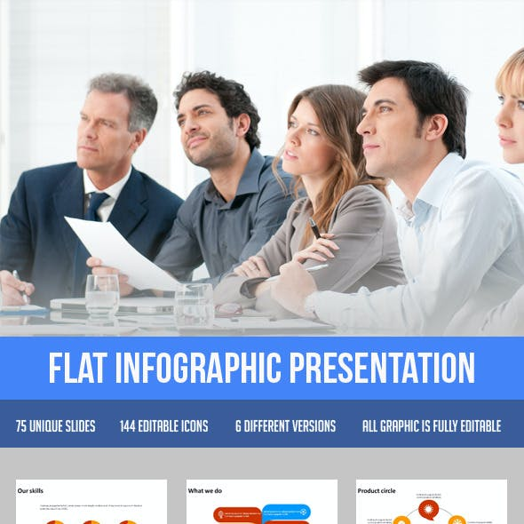 Flat Infographic Presentation