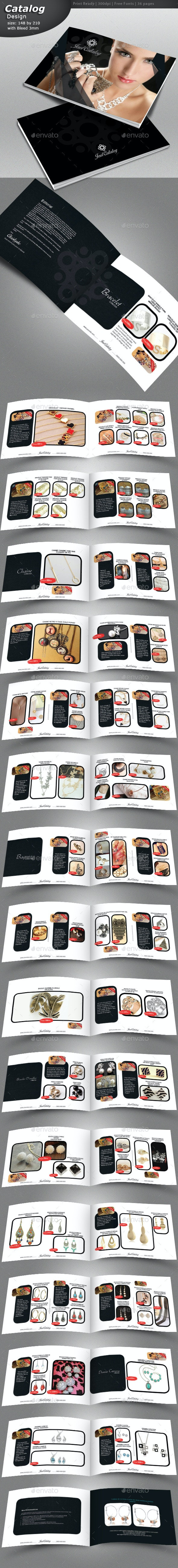 Jewelry Catalog Design  - Catalogs Brochures
