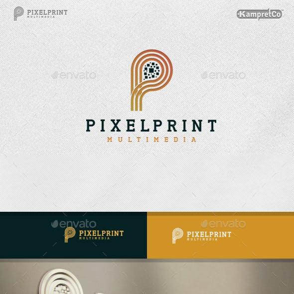 Pixel Print logo