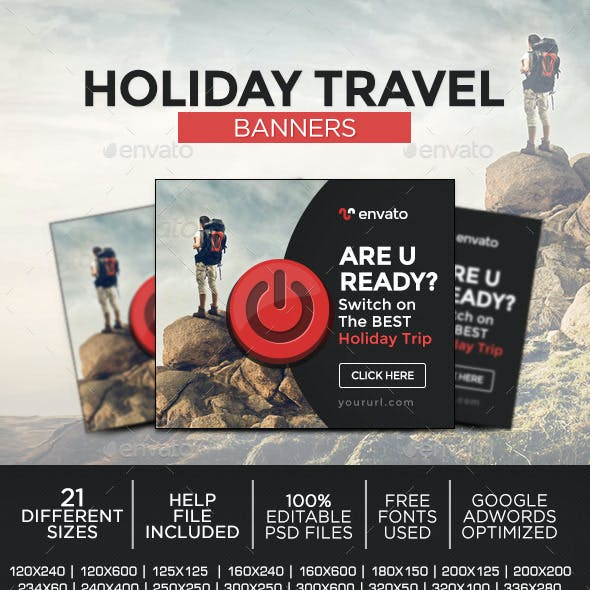 Travel Deal Banners