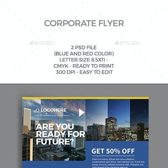 Modern Corporate Flyer
