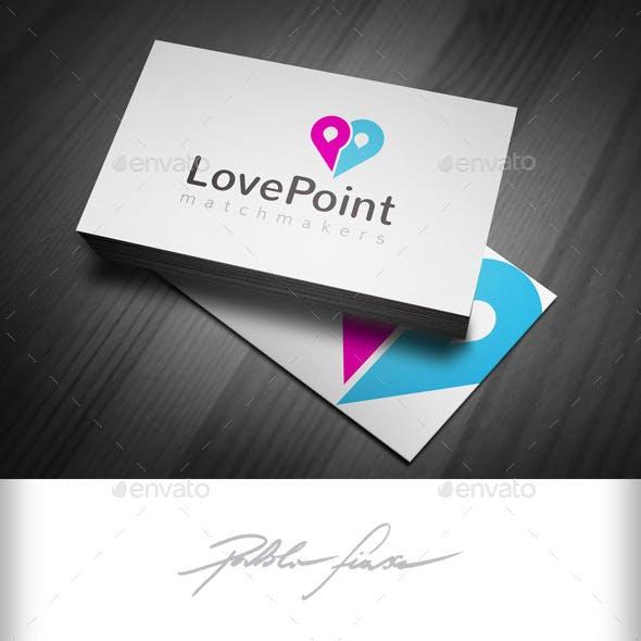 Love Finder - Matchmaker Logo - Dating Locator