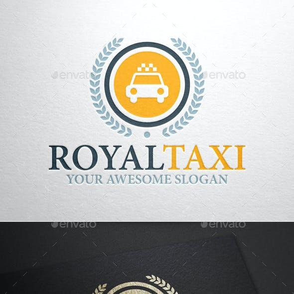 Royal Taxi Logo Template