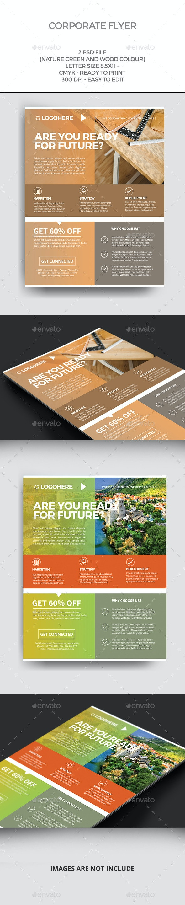 Natural flyer - Corporate Flyers