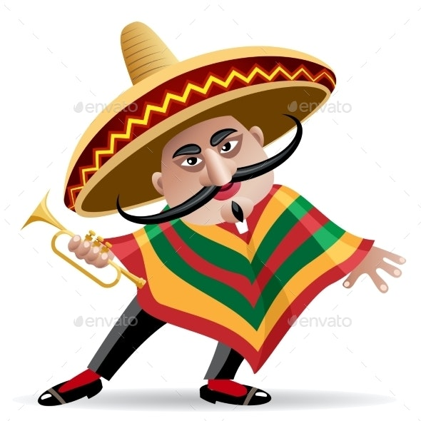 Mexican Trumpeter - People Characters