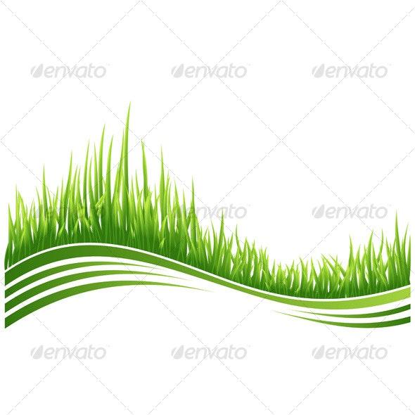 Green grass - Backgrounds Decorative