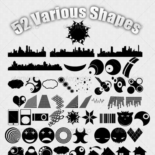 52 Various Shapes