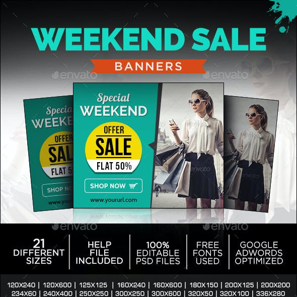 Special Sale Banners